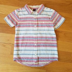 Tea Collection Boys Striped Woven Shirt